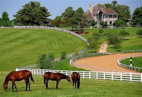 map  lexington horse farms