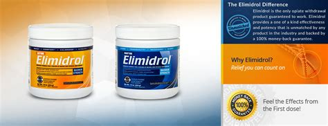 Opiate Detox Supplement by Make Opiate Withdrawal More Comfortable With Elimidrol