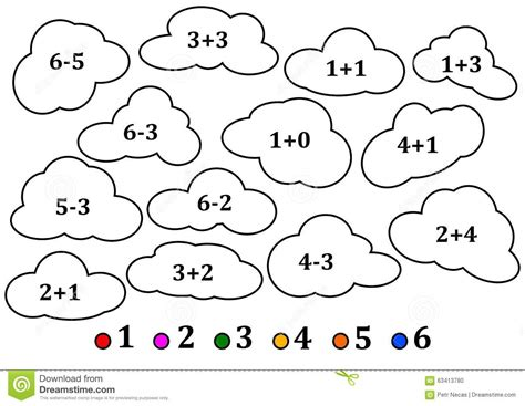 The Colorful Colouring Book The Colorful Coloring Book Colorful Clouds As The Counting For Coloring