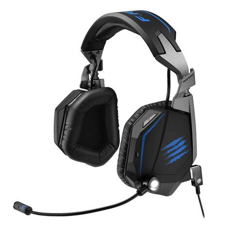 Pc Mcz F R E Q 5 Headset White mad catz f r e q te stereo gaming headset for pc and mac