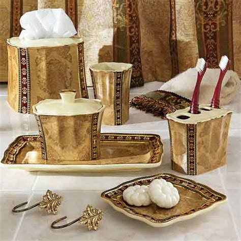 Gold bathroom accessories sets bathroom accessories sets