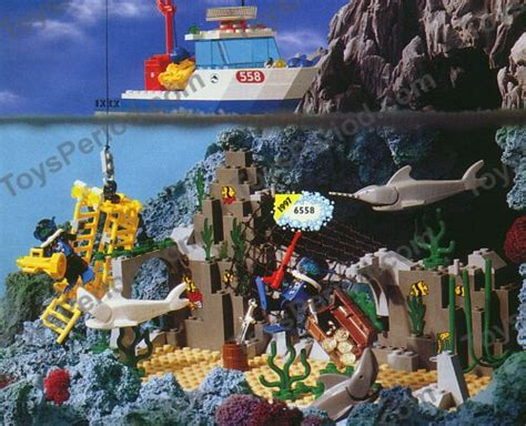 lego boat and shark lego 6558 shark cage cove set parts inventory and