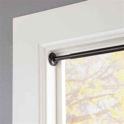 curtains on tension rods eclipse 28 in 60 in telescoping 5 8 in room darkening