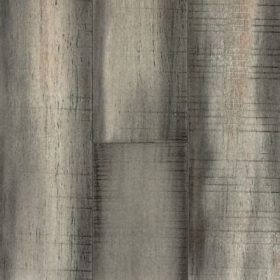 """3/8"""" x 5 1/8"""" Engineered Distressed Silver Stone   Morning"""