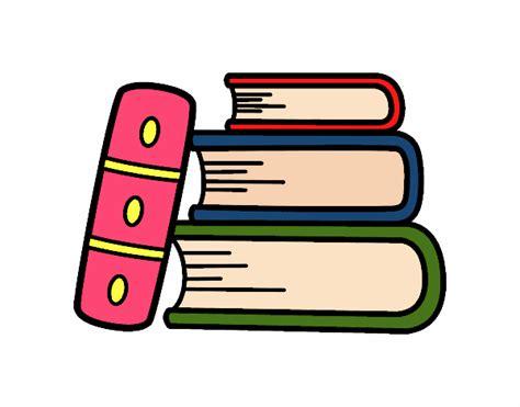 dibujo de unos libros para colorear dibujos net dibujo de unos libros pintado por jimenakawy en dibujos