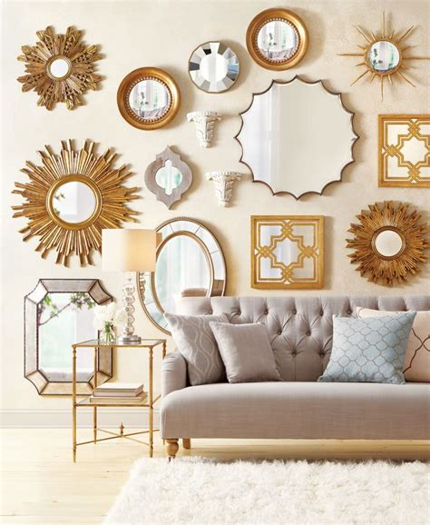 mirror collage wall decor 25 best ideas about mirror gallery wall on