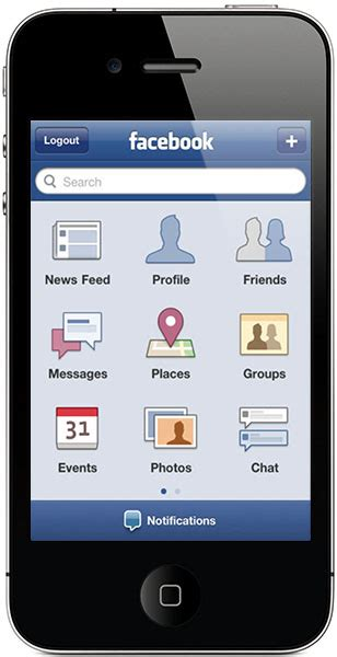 full version facebook iphone facebook for iphone updated to version 3 3 2 pocketnow