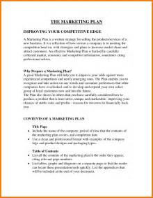 trade marketing plan template 6 marketing template assistant cover letter