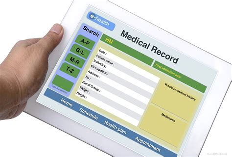 Digital Records Electronic Health Records Make Nation Health Care Easier More Seamless