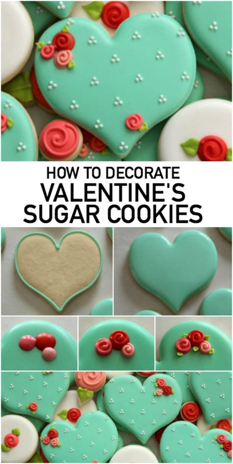 how to make valentines cookies how to make decorated sugar cookies on craftsy