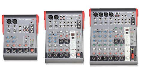 Mixer Audio Dat proel mi series mi6 mi10 en mi12 mixers musicgear nl