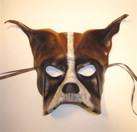 leather puppy mask leather mask of a by teonova on deviantart