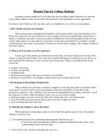 Current College Student Resume Sle by 15 Fascinating Sle Resumes For College Students 7
