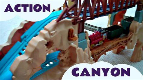 action canyon tumblin bridge trackmaster scruff victor