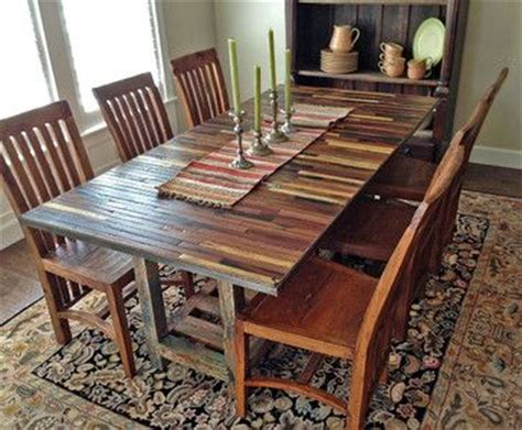 salvaged reclaimed boat wood dining table contemporary