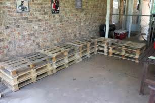 How To Make Patio Furniture With Pallets by Diy Outdoor Patio Furniture From Pallets