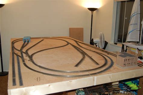 model train layout table height train toy model train table plans how to build a model