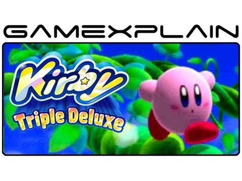 Kaset Kirby Deluxe 3ds Kirby Deluxe Intro Opening Nintendo 3ds