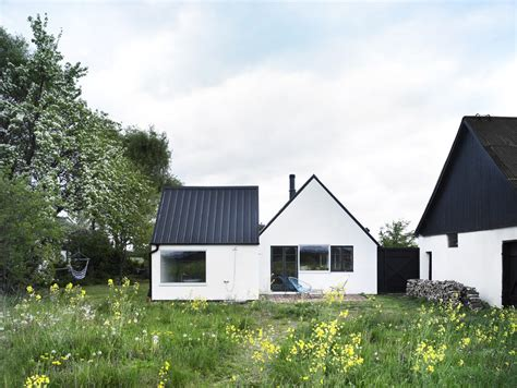 black metal roof black metal roof exterior scandinavian with gable roof vit
