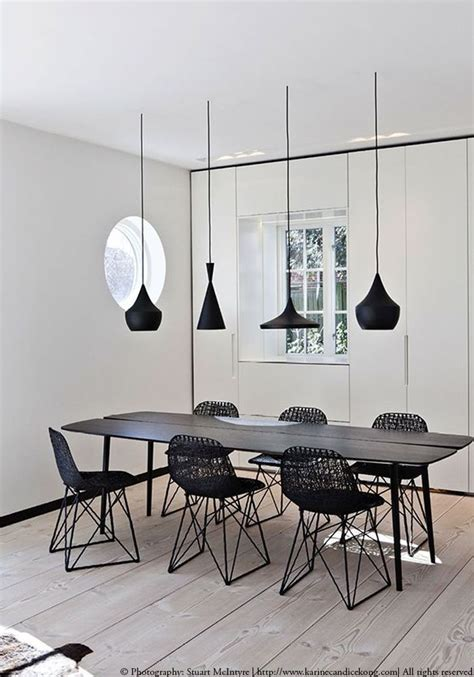 Pendant Light For Dining Table Best 25 Black Pendants Ideas On Pinterest Black White Rug Black Pendant Light And Black L