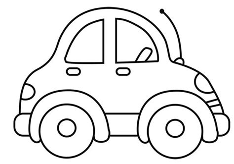 imagenes para colorear un carro carros para colorear