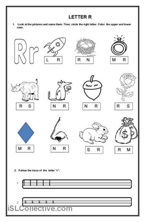 kindergarten activities with the letter r number names worksheets 187 letter r worksheets for