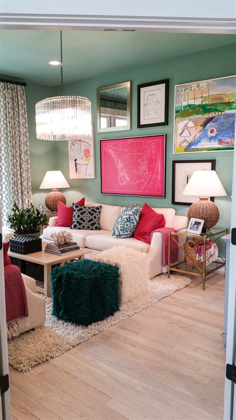living room with green mint wall and lucky painting diy canvas pictures frame on wall ideas and