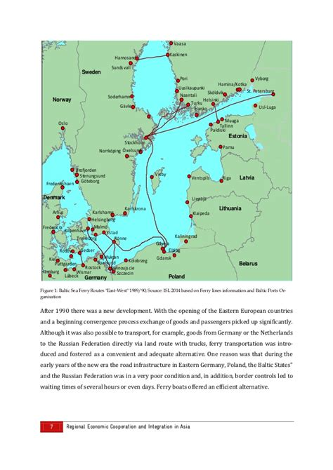ferry boat developments development of ferry boat routes in northeast asia