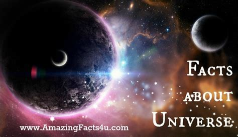 Amazing Facts About Our Universe by Universe Amazing Facts 4 U