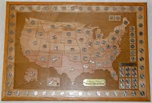 united states map for state quarters scrollsawing marvin s woodshop