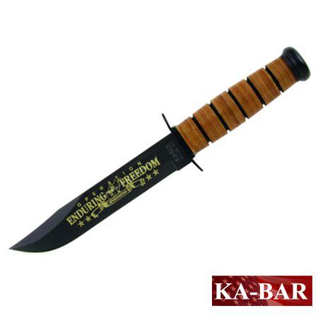 kabar army knife kabar army oef afghanistan commemorative knife 9168 ka