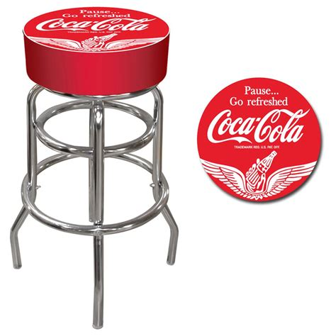 Coca Cola Stools by Vintage Coca Cola 174 Pub Stool 232651 At Sportsman S Guide