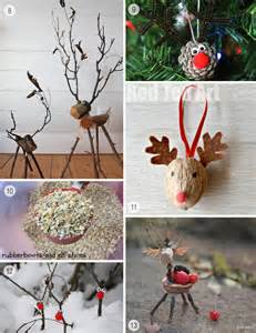 Wooden nature sculptures at the painted house blog