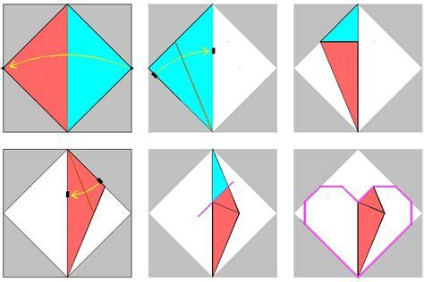 Origami Process - 1 folding process