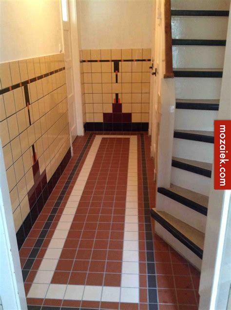 Jaren 30 Tegels Hal by Tegeladvies Mozaiek Utrecht Weer Een Tegelproject Afgerond