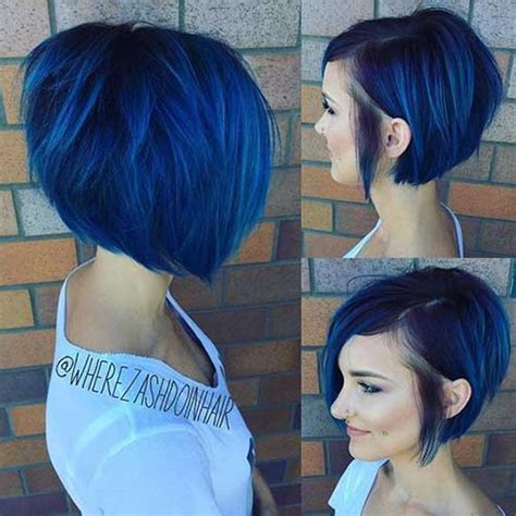 bob haircuts that cut shorter on one side 15 asymmetrical bob haircuts short hairstyles 2017