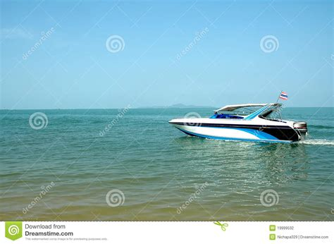 fast moving speed boat stock photography image 19999532 - Fast Moving Boats