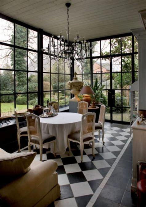 elegant black  white floor tile color ideas
