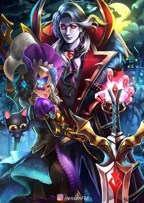 wallpaper alucard viscount alucard viscount mobile legends fanart hensenfm by