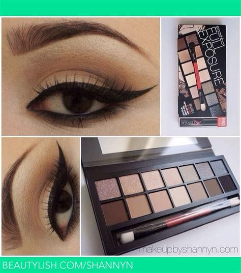 eyeshadow tutorial smashbox smashbox full exposure palette shannyn w s shannyn