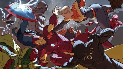 civil war ii in civil war ii 5 the heroes finally fight review nerdist