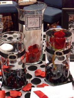 black and silver centerpiece ideas 18th birthday planning on 18th birthday