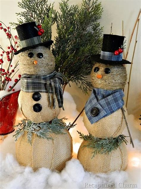 snowman decorations to make top 40 snowman decorations for your home celebration all about