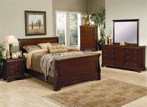 Versailles Sleigh Bedroom Set Bedroom Sets Slay Bed Set