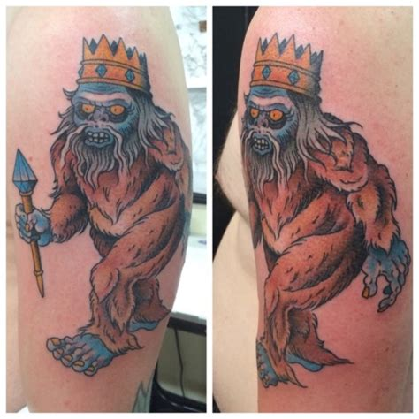 bigfoot tattoo bigfoot