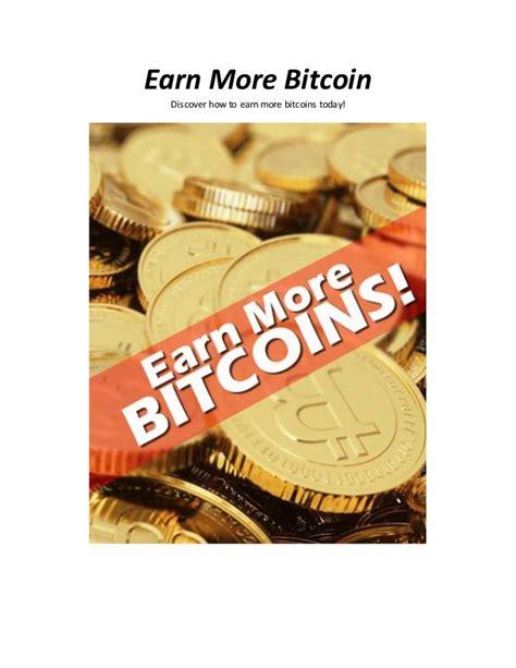 Make Money Online Earn Bitcoins Online Today From Scratch - how to earn money on bitcoin bitcoin processing speed