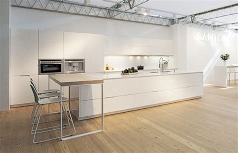 spanish company kitchens santos returns  eurocucina