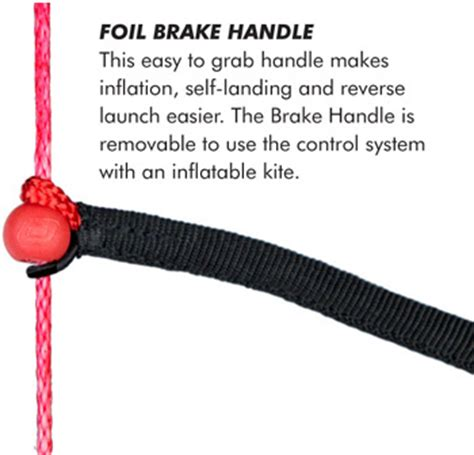 Balon Foil Handle B 20 ozone r1 v2 v3 kite snow kitesurf land depower depowerable ozone race power kites for ozone r1