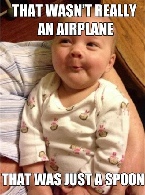 Funny Baby Meme Pictures - funny smart baby meme that wasn t an airplane that was