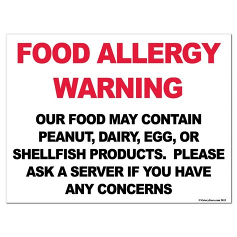 Signs Of Food Allergy Detox by Food Allergy Symbols Food Allergy Warning Signs Food
